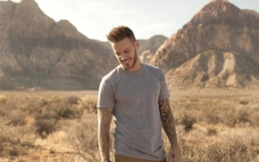 Picture smile, singer, rnb, matt pokora, the Frenchman, has the pursuit of happiness