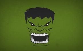 Picture minimalism, Hulk, Hulk, Marvel Comics, blo0p