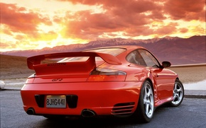 Wallpaper gt2, the sky, Red