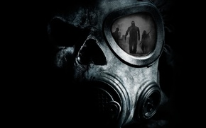 Picture night, reflection, death, people, fear, war, anger, Apocalypse, dark, radiation, disaster, the demon, zombies, Chernobyl, ...