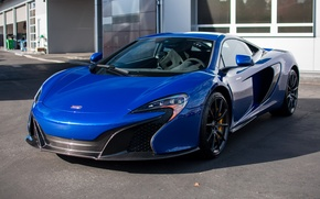 Picture blue, mclaren, 650S, sanfrancisco