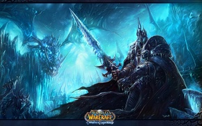Picture world of warcraft, wrath of the lich king, artas, frostmourn