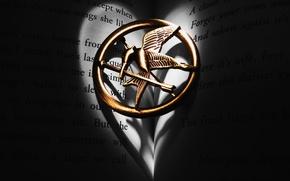 Picture freedom, pendant, symbol, Mockingjay
