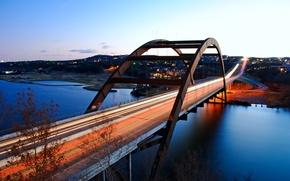 Picture city, the city, USA, Austin, Texas, Pennybacker_bridge, Loop360_bridge
