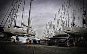 Picture car, Audi, tuning, Audi, sports car, VOSSEN, Precision series