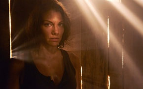 Picture Maggie, promo, The Walking Dead, Lauren Cohan, the fifth season