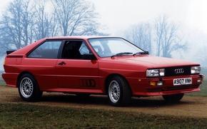 Picture red, Audi, Audi, Quattro, Quattro