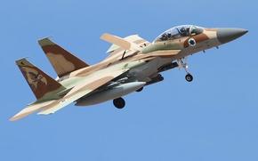 Picture Las Vegas, F-15, Nevada, Nellis Air Force Base, Israeli Defense Force, fighter jet