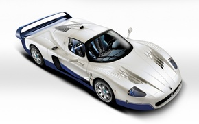 Picture auto, supercar, maserati, mc12