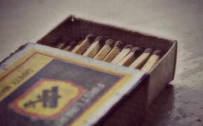Picture macro, matches, boxes