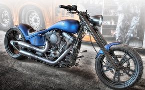 Picture design, style, background, HDR, motorcycle, form, bike, Erbacher