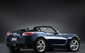 Picture convertible, Sky, Saturn