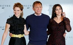 Picture Monica Bellucci, Daniel Craig, Spectre, Lea Seydoux, Léa Seydoux, 007:RANGE