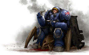 Picture zerg, Terran, Starcraft, Powered Combat Suit