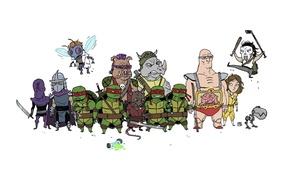 Picture Rafael, Krang, TMNT, Raphael, Leonardo, Donatello, Donatello, Leonardo, Splinter, Splinter, Michelangelo, Teenage Mutant Ninja Turtles, …
