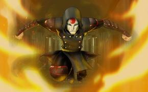 Picture mask, villain, avatar, anime, The Legend Of Korra, amon, Noatak