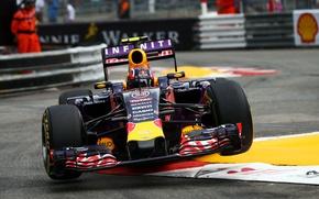 Picture Formula 1, Red Bull, Monte Carlo, Daniil Kvyat