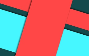 Picture line, red, geometry, green, design, color, material