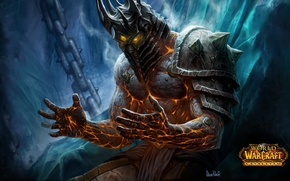 Picture magic, armor, helmet, the throne, warcraft