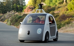Picture Google, Car, Driverless