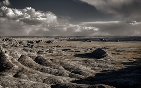 Picture landscape, nature, Badlands National Park