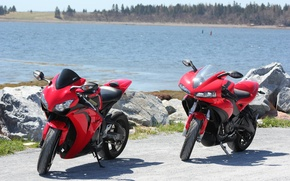 Picture red, motorcycles, red, Supersport, honda, Honda, supersport, buell, bikes, cbr1000rr, sibiar, Buell, 1125r