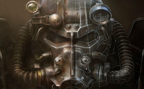 Picture Armor, Art, Bethesda Softworks, Bethesda, Equipment, Bethesda Game Studios, Fallout 4, The Art of Fallout …