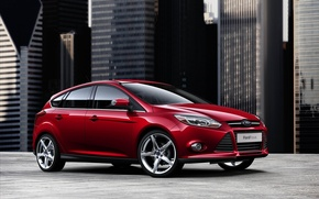 Picture Ford, city, focus, machine, ford