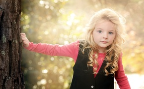 Picture light, mood, girl