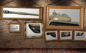 Picture Wall, Pictures, Creative, T-54, WoT, World of Tanks