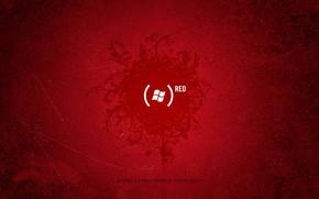 Wallpaper red, the inscription, logo, Texture, brackets