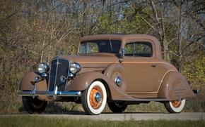 Picture vintage, retro, brown, old, nice, old car, veteran, heritage