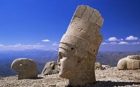 Picture monument, statues, Turkey, Nemrut