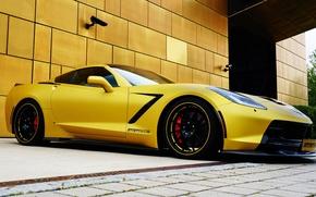 Picture Corvette, Chevrolet, Chevrolet, Coupe, Corvette, Stingray, 2014, Geiger, Stingray