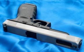 Picture Gun, Austria, Wallpaper, Weapons, Glock, Glock, 20L, 20L, Slide