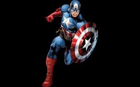 Picture costume, shield, Captain America, Captain America, Steven Rogers