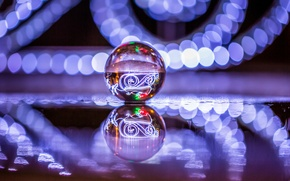 Picture glare, reflection, ball