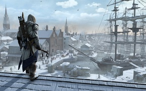 Picture Assassin's Creed III, Connor Kenway, Ratohnhaké:ton