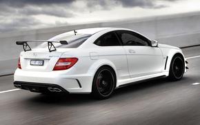Picture Beautiful, AMG, White, Wallpaper, White, AMG, Car, Car, Machine, Benzo, 2012, C 63, TS 63, …