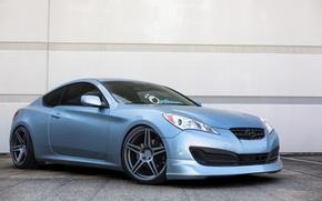 Picture blue, blue, hyundai, Hyundai, genesis, Genesis