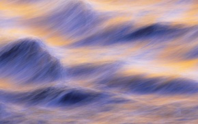 Wallpaper touch, sea, wave, water, abstraction, line
