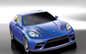 Picture tuning, Porsche, tuning, Panamera, 9ff