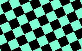 Picture background, blue, black, texture, squares