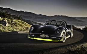 Picture car, machine, auto, mountains, black, cars, work, lc 470 r