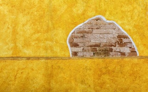 Picture house, background, wall