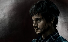 Picture the series, art, Will Graham, Hannibal, Hannibal, NBC, Will Graham