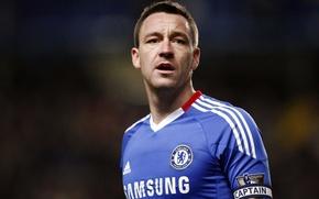 Picture legend, John Terry, captain, Chelsea fc, leader