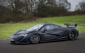 Picture McLaren, McLaren, Drives, Supercar, Supercar