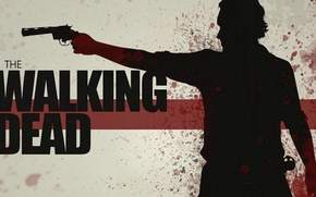 Picture drops, vector, The Walking Dead, Rick Grimes, Andrew Lincoln, Andrew Lincoln, Rick Grimes, blood spatter, …