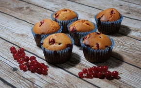 Picture food, currants, cakes, cupcakes
